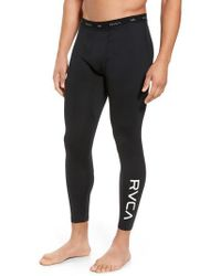 RVCA - Va Sport Compression Pants - Lyst