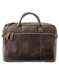 Timberland - Tuckerman Leather Briefcase - - Lyst
