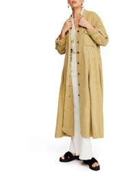 Free People - Rainz Duster Jacket - Lyst