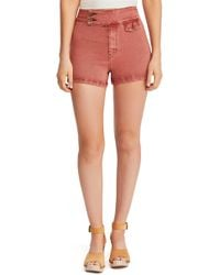 Free People - Sammi Retro Shorts - Lyst
