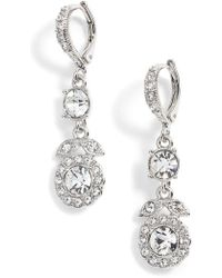 Givenchy   Crystal Drop Earrings   Lyst