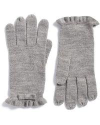 Kate Spade - Ruffle Gloves - Lyst