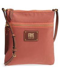 Frye - Ivy Nylon Crossbody Bag - Lyst