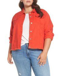 Glamorous - Cutoff Denim Jacket - Lyst