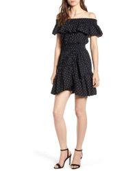 MISA - Lavie Off The Shoulder Dress - Lyst