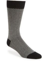 Ted Baker - Ronimow Herringbone Socks - Lyst