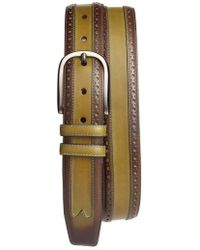 Mezlan - Leather Belt - Lyst
