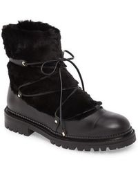 Jimmy Choo - Darcie Genuine Shearling Boot - Lyst