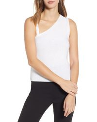 English Factory - Asymmetrical Knit Camisole - Lyst