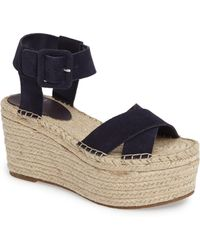 Marc Fisher - 'randall' Platform Wedge - Lyst