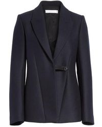 Victoria Beckham - Fluid Back Double Breasted Jacket - Lyst