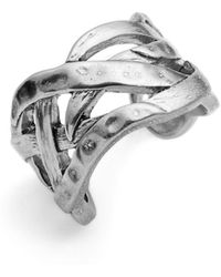Karine Sultan - Adjustable Ring - Lyst