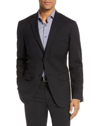 Nordstrom - Tech-smart Trim Fit Stretch Wool Travel Sport Coat - Lyst