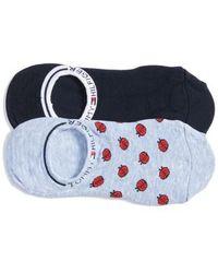 Tommy Hilfiger - 2-pack Ladybug No-show Socks - Lyst