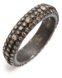 Armenta - Old World Eternity Diamond Stack Ring - Lyst