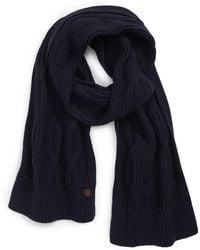 Ted Baker - Cable Knit Scarf - Lyst