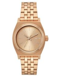 Nixon | Time Teller Bracelet Watch | Lyst