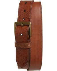 Frye - Pebbled Leather Belt - Lyst