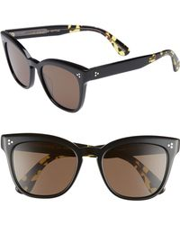 5433818eca Oliver Peoples - Marianela 54mm Cat Eye Sunglasses - Lyst