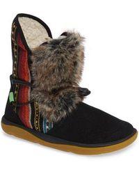 Sanuk - Tripper Flurry Faux Fur Boot - Lyst