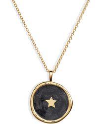 Gorjana - Star Coin Necklace - Lyst