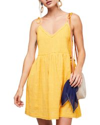 Free People - Endless Summer By Sun Drenched Minidress - Lyst