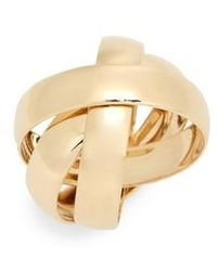 Lana Jewelry - Interlocking 14k Gold Curve Ring - Lyst
