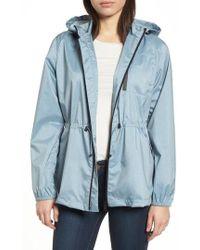 Bernardo - Microbreathable Hooded Water Resistant Jacket - Lyst