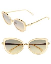 Wildfox - Clubhouse 54mm Mirrored Sunglasses - Lyst