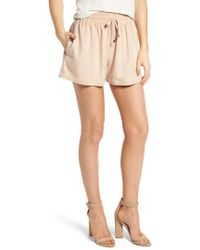 BISHOP AND YOUNG - Bishop + Young Faux Suede Shorts - Lyst
