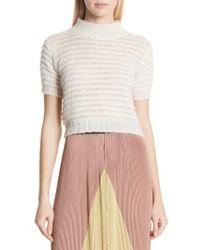 Rachel Comey - Crop Knit Tee - Lyst