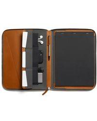 Bellroy - A4 Leather Work Folio - Lyst