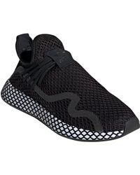 Lyst - adidas Eqt Basketball Adv Sneaker in Black for Men e54a50573