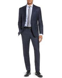 Ted Baker - Jones Trim Fit Solid Wool Suit - Lyst