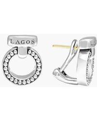 Lagos | 'enso' Caviar(tm) Clip Earrings | Lyst