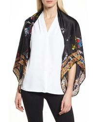 Ted Baker - Opulent Fauna Cape Scarf - Lyst