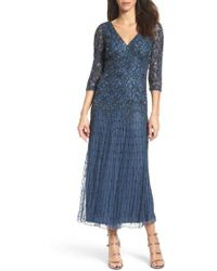 Pisarro Nights - Beaded Mesh Dress - Lyst