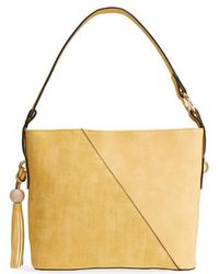 Sondra Roberts - Faux Leather Tote - Lyst