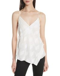 Theory - C2. Co Crossover Camisole - Lyst