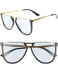 McQ - 58mm Flat Top Sunglasses - - Lyst