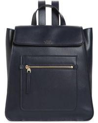 Smythson - Bond Small Leather Backpack - Lyst