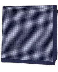 Eton of Sweden - Dot Silk Pocket Square - Lyst