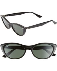 c6fdedece9e Ray-Ban - Nina 54mm Cat Eye Sunglasses - Lyst
