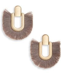 Shashi - Nina Tassel Earrings - Lyst
