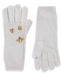 BCBGMAXAZRIA - The Bees Knees Embellished Gloves - Lyst