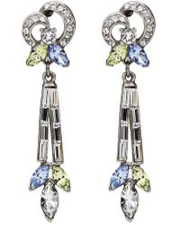 Ben-Amun - Multicolor Baguette Earrings - Lyst