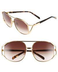 Wildfox - 'dynasty' 59mm Retro Sunglasses - - Lyst