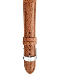Michele - 18mm Leather Watch Strap - Lyst