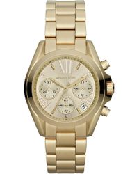 fe8d79e432fc Michael Kors - Michael Kors  bradshaw - Mini  Chronograph Bracelet Watch -  Lyst