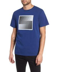 Saturdays NYC - Halftone Graphic T-shirt - Lyst